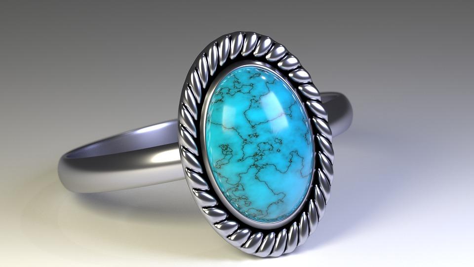 srebrnina, prstan