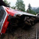 IZTIRJENJE VLAKA: Na mednarodnem vlaku je bilo kar okoli 100 ljudi!